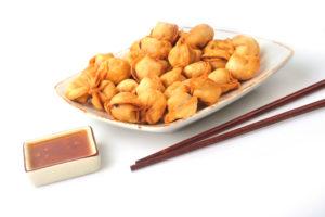 C-3 Koldūnai su mėsa kiniškai saldžiarūgščiai aštriame padaže (mix)