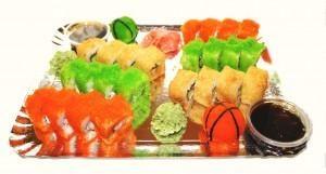 SR-10 Sirgalių sushi rinkinys (26vnt)