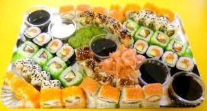 SR-8 BOSO Sushi rinkinys (48vnt)