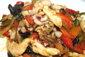 Z-8 Jūros gėrybės su vištiena ir daržovėmis